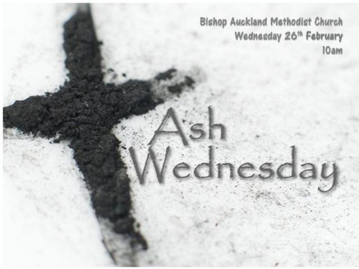 Ash Wednesday Service Feb 2020