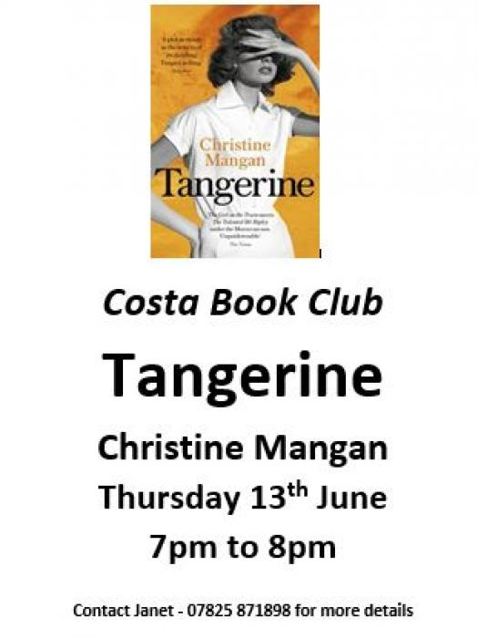 Costa Book Club 13th June