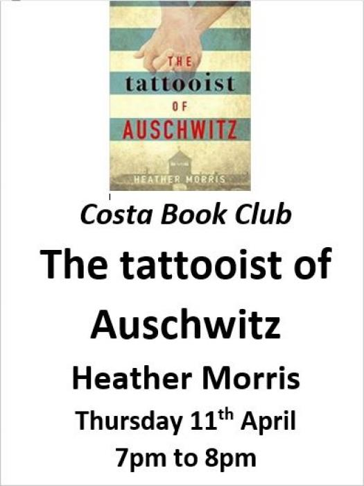 Costa Book Club April 2019