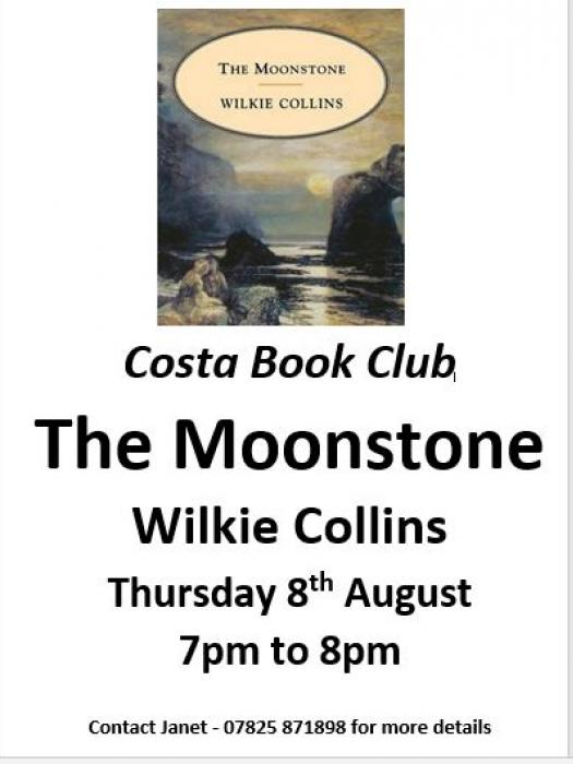 Costa Book Club Aug 2019
