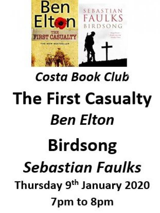 Costa Book Club January 2020