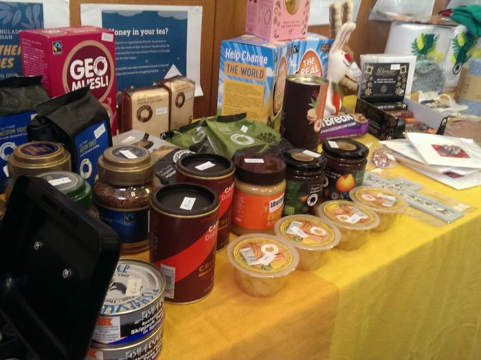Fairtrade stall 1