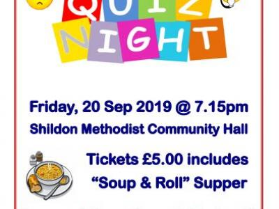 Quiz night Shildon 200919