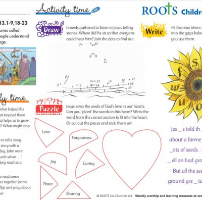 Roots sheet 12-07-2020 children