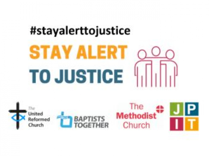 Stay Alert To Justice