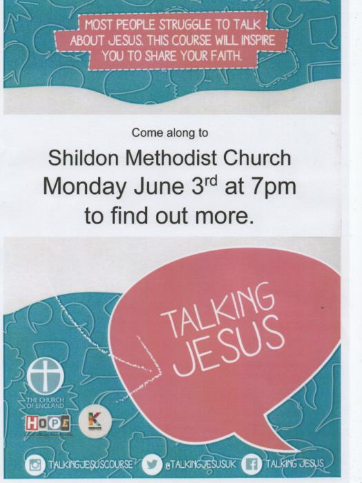 Talking Jesus Shildon 030619