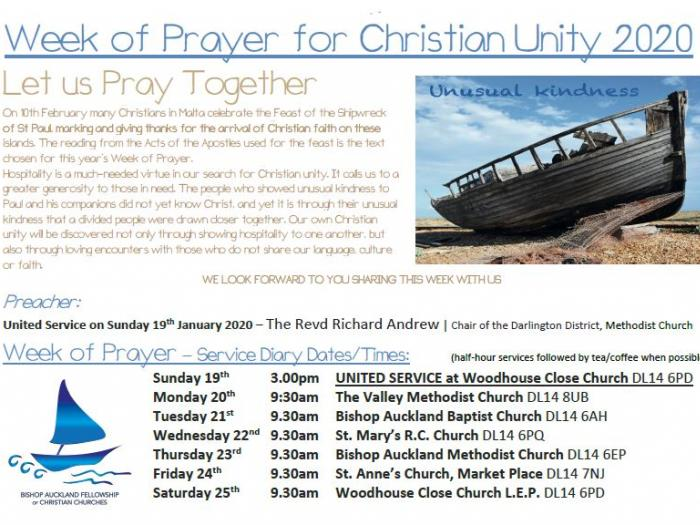 Week of Christian Unity Poster