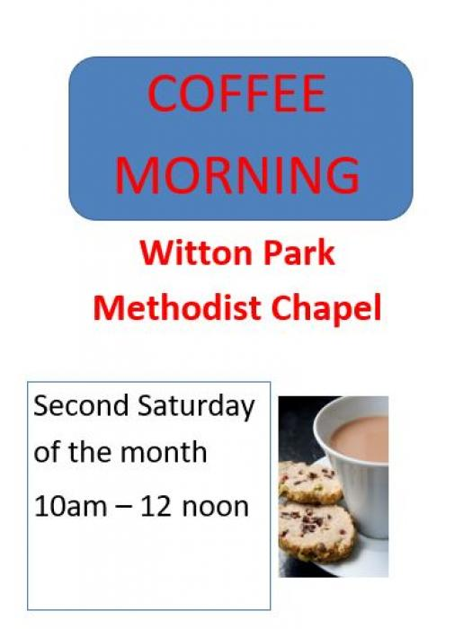 WP Coffee Morning poster